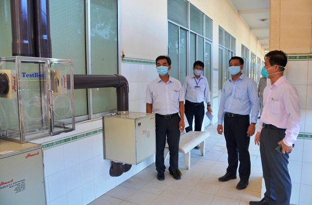 GENCO 3 donates a negative pressure isolation room to Binh Thuan Province